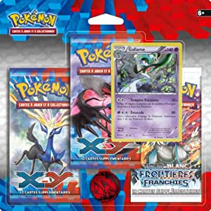 Pokémon - 3PACK01XY01 - Cartes À Collectionner - Pack 3 Boosters -  Xy01