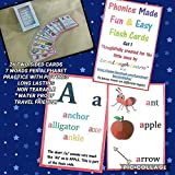 Best Flash Card Reader - LOVE.LAUGH.LEARN Phonics FLASHCARDS Non-Tear Water Proof Review