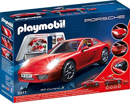 Playmobil Porsche 911 Carrera S (3911) und Targa 4 S