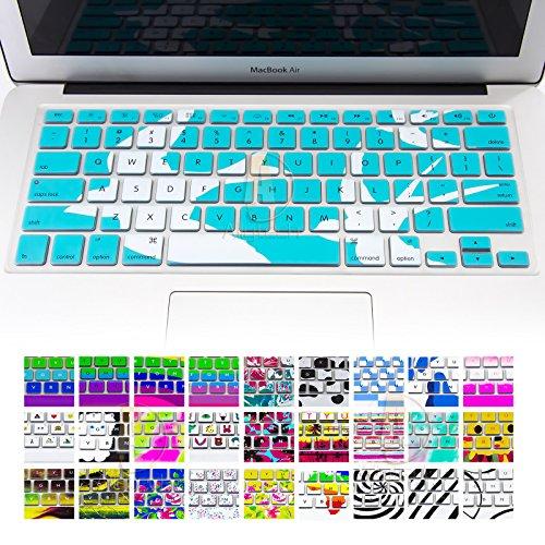 allytech Einzigartiges Muster Serie Keyboard Cover Silikon Skin für MacBook Pro 33cm, 38,1cm (mit oder ohne Retina Display) MacBook Air 33cm, Dolphin With Ocean's story