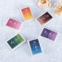 Tampón para sello, de Zhuotop para decoración y manualidades, para niños, de colores