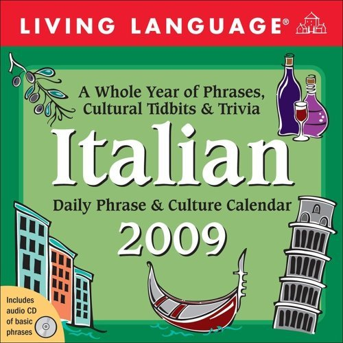 Daily Kalender Block (Living Language: Italian 2009 Calendar -Daily Desk Block (Living Language Phrase and Culture Calendars) by Andrews McMeel Publishing UK Ltd (2008-10-30))