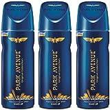 Park Avenue Good Morning Deodorant Combo Pack of 3 Deodorant Spray - For Men (450 ml, Pack of 3)