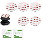 CANOPUS 5 Pack, 3M VHB Waterdichte Sticky Adhesive Pads voor Opvouwbare Grip Stand, Heavy Duty Dubbelzijdige Sticky Pads voor