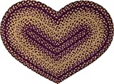 CWI Gifts Vintage Star Braided Heart Rug, 20 - Best Reviews Guide