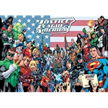 Pyramid intl - Poster DC Comics - Justice League Classic Group 100x140cm - 5050293510576