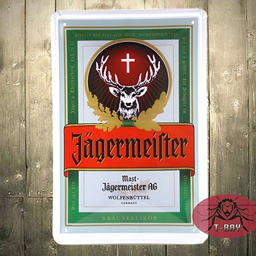 t-ray-jagermeister-jager-bomb-tin-metal-advertising-wall-bar-sign