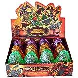 Yeelan 4D Puzzle Dinosaur Eggs Modèle Toy /, paquet de 12 PCS