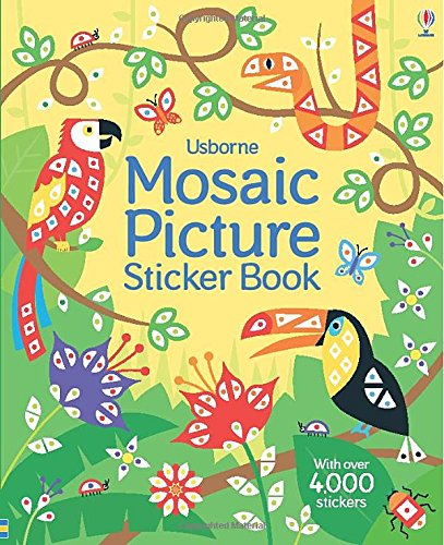 Mosaic Picture Sticker Book (Mosaic Sticker Books)