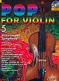 eBook Gratis da Scaricare Schott 12 partiture di canzoni pop con arrangiamento per violino solista duo titolo Pop for Violin vol 5 con CD (PDF,EPUB,MOBI) Online Italiano