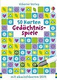 Gedächtnisspiele: mit abwischbarem Stift & 50 Karten