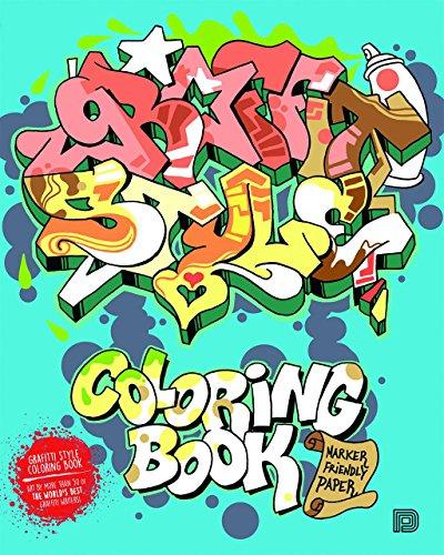 Graffiti Style Coloring Book par Bjorn Almqvist