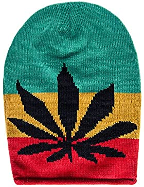 Gorro Blue Banana Rasta Leaf (Multicolor)