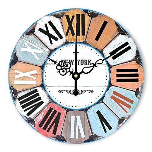 Orologio moderno della parete della decorazione della decorazione della parete silenziosa moderna del grande orologio da parete per la decorazione della parete del salone , 16