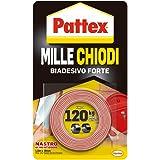 Pattex 1415580 Millechiodi Tape Ruban adhésif double face 19mm x 1,5m