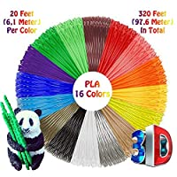 This is a convenient kit for working and storing 3D Printing Pen and Filament Refills. Due to the compact packaging, you will always have exact color of the PLA Plastic Filament at hand.    Guaranteed Safety:   These 1.75mm PLA Filaments are odorless...