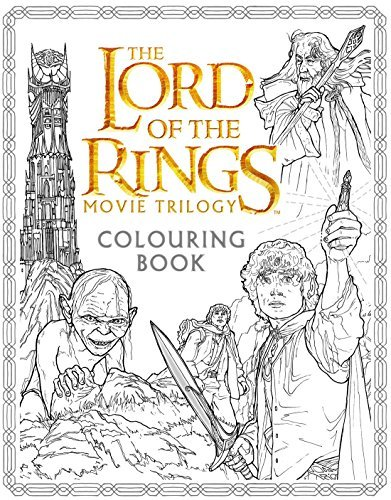 The Lord of the Rings Movie Trilogy Colouring Book by Warner Brothers (2016-06-02)