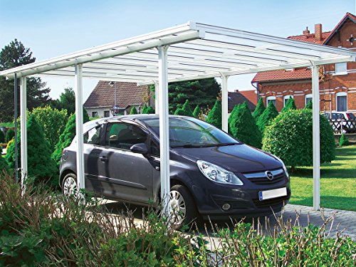 Beckmann RAL9010 Carport Test