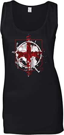 England Flag Football Ladies Vest
