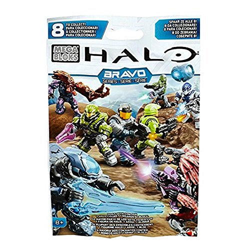 Mega Bloks Halo MAF Bravo Serie Building Set (Halo-action-figuren Waffen)