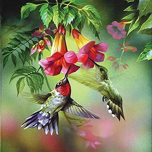 Csyhl 5D volle DIY handgemachte Diamant Stickerei mosaik malerei Kits Wand Kreuz Aufkleber kolibri nektar Bild wohnkultur