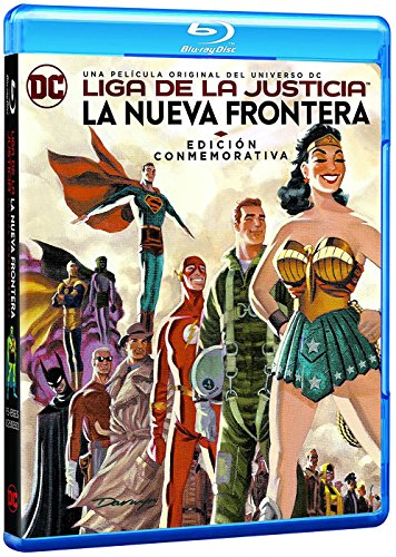 Liga De La Justicia: La Nueva Frontera. Edición Conmemorativa Blu-Ray [Blu-ray]