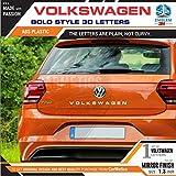 #9: Volkswagen 3D Letters for Volkswagen Passat - Mirror Finish - Carmetics