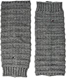 Tommy Hilfiger Damen Stulpen TH Women Ribble Legwarmer 1P Grau (Middle Grey Melange 758), One Size