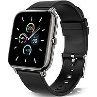 KALINCO Smartwatch, 1.4 Zoll Touch-Farbdisplay Fitness Tracker mit Blutdruckmessung, Smart Watch Pulsuhr Schlafmonitor…
