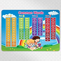 Educational PLACEMAT - Common Words