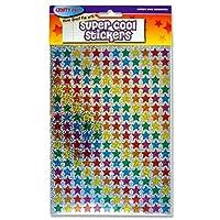 216 Sparkle Stars Reward Stickers + Free Kids Bookmark