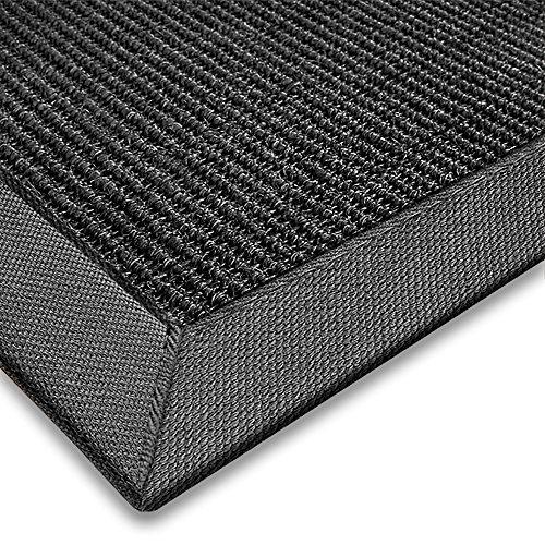 casa-purar-sisal-teppich-aus-naturfasern-schwarz-mit-bordure-aus-baumwolle-pflegeleicht-grosse-wahlb