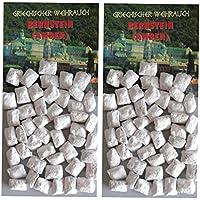 Trimontium Räucherwerk griechischer Weihrauch Stücke Bernsteinharz (Amber) 2 x 25 g zum Räuchern auf Kohle oder... preisvergleich bei billige-tabletten.eu