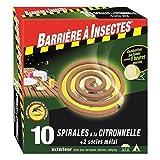 Barriere A Insekten barspir10r 10Stück Repellent Curlies Citronella rot 11.4x 12,4x 2cm