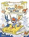 Le chevalier Arthus cherche enfant sachant lire et écrire pour aventures fantastiques par Naumann-Villemin