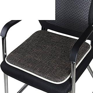 KFIENKSGNDKJF Büro-Stuhl Kissen 40 * 40cm sitzkissen für Auto am besten für büro, Haus und Auto-L 40x40cm(16x16inch)