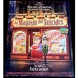 LE MAGASIN DES SUICIDES Affiche de film 40x60-2012 - Bernard Alane, Patrice Leconte
