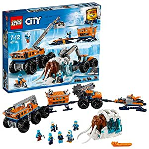Lego City - La Base Arctique d'exploration Mobile - 60195 - Jeu de Construction