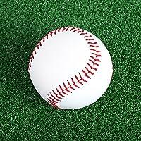 Wenquan,2.75 Pulgadas de Blanco Deporte práctica Entrenamiento Pelota de béisbol de softbol(Color:Blanco)