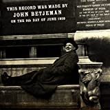 This Record Was Made By John Betjeman