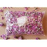 Pétalos de rosa 100% natural y con rosa de bulgaria aromático flores secas, 50g
