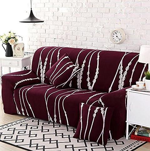Sofabezug Elastisch Schonbezug Polyester Multifunktion Couchabdeckung Wohnkultur Drucken Sofa Matten , 3