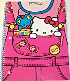 Best Sanrio Kitties - Hello Kitty Wide Rule Spiral Notebook ~ Kitty Review