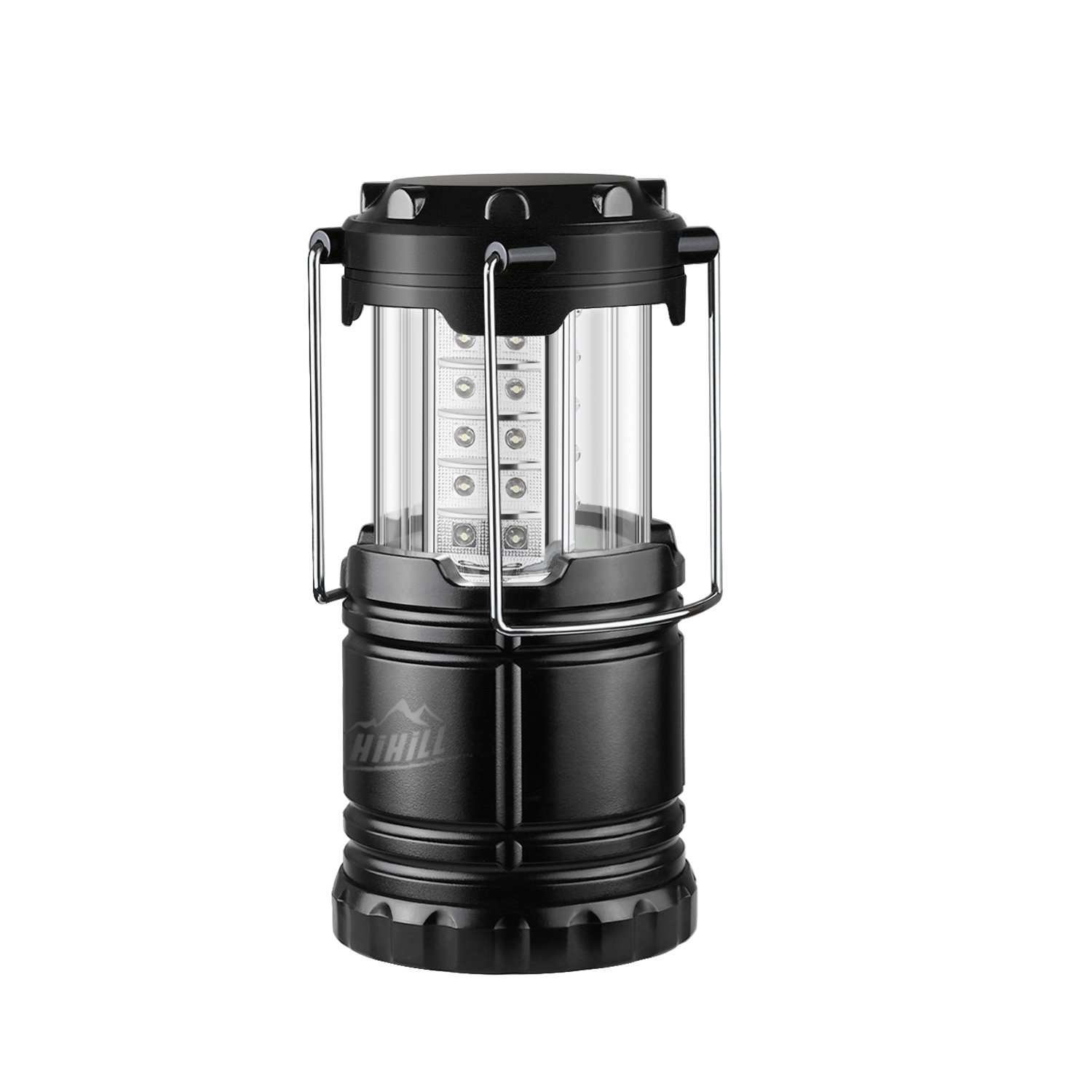 HiHiLL Camping Lantern Collapsible, 30 LEDs, Battery ...
