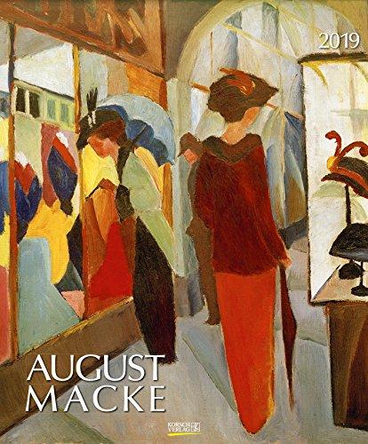 August Macke 2019.: Kunst Art Kalender
