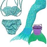Ensemble bikini et queue de sirène - Xyfushi - -