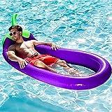 Yingtan Sommer Wasser Spielzeug aufblasbare Aubergine Lounge Chair Flamingo Pool Schwimmen Schwimmer Schwimmer Swan für Erwachsene floss Kind Schwimmen Ring