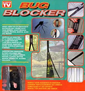 as seen on tv moskitonetz fliegengitter mit magnetverschluss 100 x 210 cm baumarkt. Black Bedroom Furniture Sets. Home Design Ideas