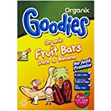 Organix Goodies Bars fruits bio - Banana & Date 12mth + (5x15g) -
