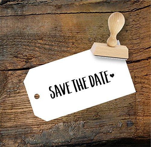 Hochzeit Stempel Save the date aus Buchenholz, Qualitätsprodukt aus Österreich, perfekt für DIY Wedding